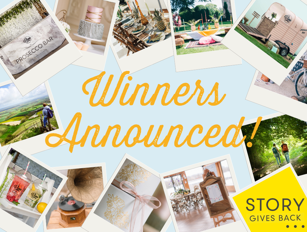 #StoryGivesBack Winners