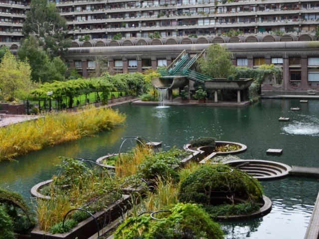 Barbican Centre Pond